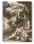 Perseus Cuts Off Medusas Head, 1731 Spiral Notebook