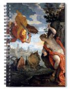 Perseus Rescuing Andromeda Spiral Notebook