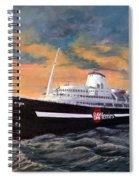 Perseverance On The Bay Spiral Notebook
