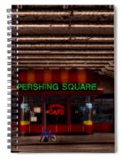 Pershing Square Cafe Spiral Notebook