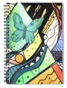 Persistence Of Form Spiral Notebook