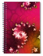 Persistent Flowers Spiral Notebook