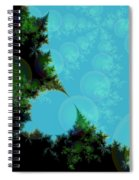 Perspective In The Forest Spiral Notebook