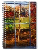 Perspective On Fall  Spiral Notebook