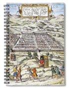 Peru: Cuzco, 1572 Spiral Notebook