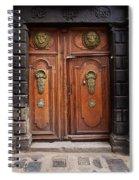 Peruvian Door Decor 10 Spiral Notebook