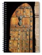 Peruvian Door Decor 17 Spiral Notebook