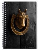 Peruvian Door Decor 5 Spiral Notebook