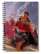 Peruvian Festival Sacred Valley Spiral Notebook