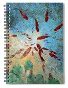 Koi Rotanti Spiral Notebook