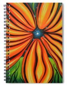 Petal To The Mental Spiral Notebook