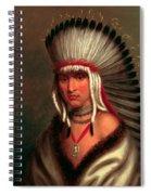 Petalesharro. Generous Chief  Pawnee Spiral Notebook