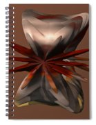 Petals And Stone Spiral Notebook