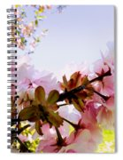 Petals In The Wind Spiral Notebook