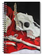 Pete The Skull Spiral Notebook