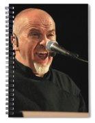 Peter Gabriel Spiral Notebook