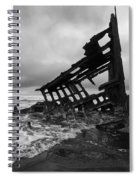 Peter Iredale Shipwreck Oregon 1 Spiral Notebook