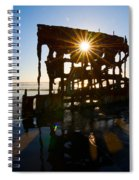 Peter Iredale Shipwreck, Fort Stevens Spiral Notebook
