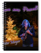 Peter Mayer Stars And Promises Christmas Tour Spiral Notebook