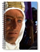 Peter Otoole And Omar Sharif In Lawrence Of Arabia Spiral Notebook