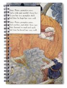 Peter Pumpkin Eater Spiral Notebook
