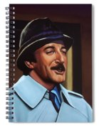 Peter Sellers As Inspector Clouseau  Spiral Notebook
