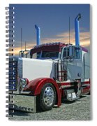 Peterbilt At The Beach  Spiral Notebook