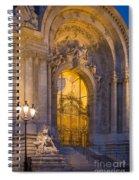 Petite Palais Twilight Spiral Notebook