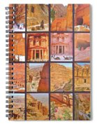 Petra Alive In Petra Jordan Spiral Notebook