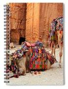 Petra Camels Spiral Notebook