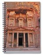 Petra Treasury Spiral Notebook