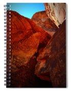 Petroglyphs Valley Of Fire Nevada Spiral Notebook