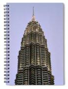 Petronas Pinnacle Spiral Notebook
