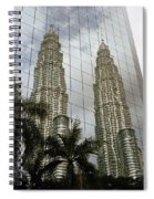 Petronas Reflecting Spiral Notebook