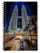 Petronas Twin Towers Spiral Notebook