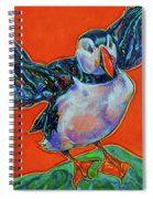 Petty Harbour Puffin Spiral Notebook