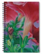Petunia Skies Spiral Notebook