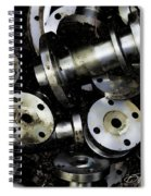 Pewterized Spiral Notebook