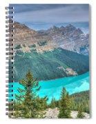 Peyto Lake 2 Spiral Notebook