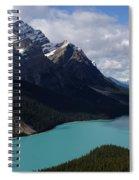 Peyto Lake Canadian Rockies Spiral Notebook