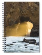 Pfeiffer At Sunset Spiral Notebook