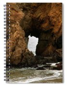 Pfeiffer Beach Rocks In Big Sur Spiral Notebook