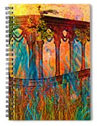 Phantom Fires Spiral Notebook