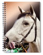 Phantom Lover Race Horse Looking On Spiral Notebook