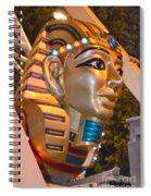 Pharaoh's Canoe Spiral Notebook