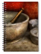 Pharmacist - Pestle And Son  Spiral Notebook