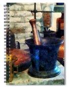 Pharmacist - Three Mortar And Pestles Spiral Notebook