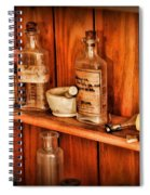 Pharmacy - A Bottle Of Poison Spiral Notebook