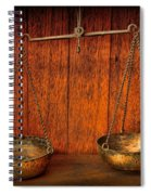 Pharmacy -apothecary Scale Spiral Notebook