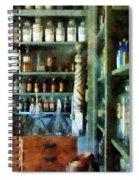 Pharmacy - Back Room Of Drug Store Spiral Notebook